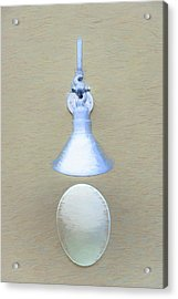Acrylic Print featuring the photograph Egg Drop Lamp by Gary Slawsky