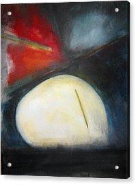 Egg Acrylic Print by Halle Treanor