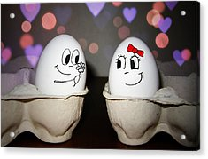 Egg Love Acrylic Print