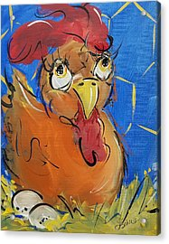 Eggs For Breakfast Acrylic Print