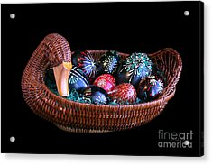 Eggs In A Goose Basket Acrylic Print