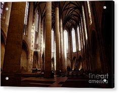 Eglise Des Jacobins, Toulouse Acrylic Print by Cendrine Marrouat