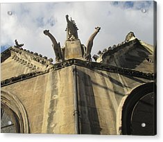 Acrylic Print featuring the photograph Eglise Saint-severin, Paris by Christopher Kirby