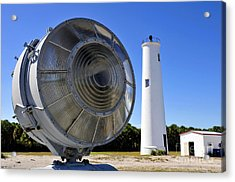 Egmont Key Lighthouse 1858 Acrylic Print by David Lee Thompson