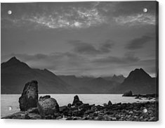 Egol Beach On The Isle Of Skye In Scotland Acrylic Print