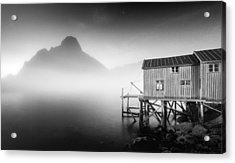 Egulfed By Mist Acrylic Print