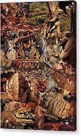 Egypsies Acrylic Print by Baba Trips