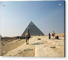 Egypt - Pyramid3 Acrylic Print by Munir Alawi