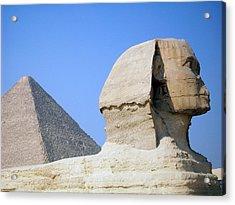 Egypt - Pyramids Abu Alhaul Acrylic Print by Munir Alawi
