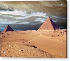 Egypt Eyes Acrylic Print by Munir Alawi