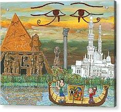 Egypt   Jan Acrylic Print