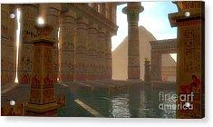 Egyptian Bath Acrylic Print
