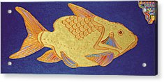 Egyptian Fish Acrylic Print by Bob Coonts