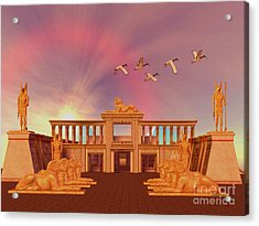 Egyptian Kingdom Acrylic Print