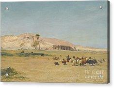 Egyptian Landscape Acrylic Print