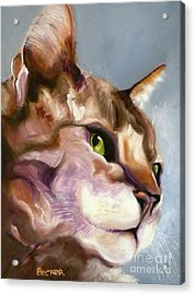 Egyptian Mau Princess Acrylic Print