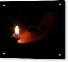 Egyptian Style Lamp - Terracotta 1 Acrylic Print