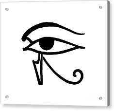 Egyptian Utchat Acrylic Print by Granger