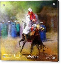 Eid Ul Adha Festivities Acrylic Print by Miki De Goodaboom
