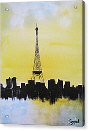 Eiffel Of Paris Acrylic Print