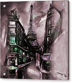 Eiffel Tower 02  Acrylic Print by Gull G