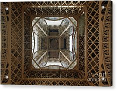 Eiffel Tower Abstract Acrylic Print
