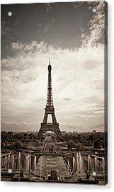 Eiffel Tower Acrylic Print by Ei Katsumata
