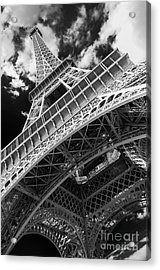 Eiffel Tower Infrared Abstract Acrylic Print
