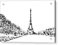 Eiffel Tower Acrylic Print