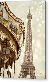 Eiffel Tower Acrylic Print by Juli Scalzi