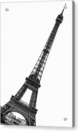 Eiffel Tower Acrylic Print by Marion McCristall