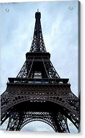 Acrylic Print featuring the photograph Eiffel Tower by Nancy Bradley