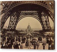 Eiffel Tower, View Toward The Central Acrylic Print by Everett