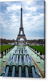 Eiffeltower From Trocadero Garden Acrylic Print