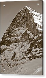 Eiger North Face Acrylic Print