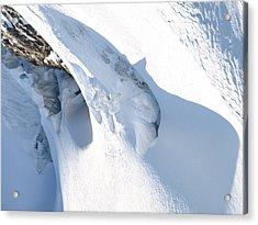 Eiger Acrylic Print by Randall Slinkard