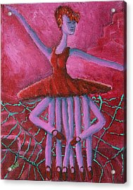 Eight Legged Ballerina Acrylic Print
