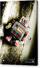 Eighties Cybernetic Droid  Acrylic Print by Jorgo Photography - Wall Art Gallery