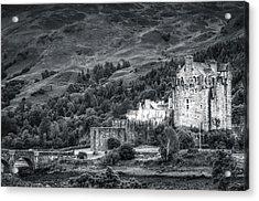 Eilean Donan Castle, Dornie, Kyle Of Lochalsh, Isle Of Skye, Scotland, Uk Acrylic Print