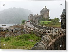 Acrylic Print featuring the photograph Eilean Donan Castle In The Highlands Of Scotland  by Michalakis Ppalis