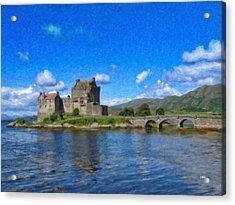 Eilean Donan Castle - Sct671252 Acrylic Print