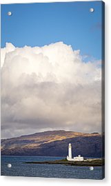 Eilean Musdile Lighthouse On Lismore Acrylic Print