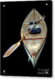 Eileen's Canoe Acrylic Print