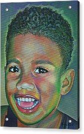 Eka  Acrylic Print by Sharon Ebert