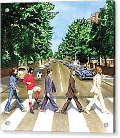 El Beatle Acrylic Print by John Hebb