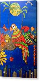 El Bird Acrylic Print by MikAn 'sArt