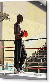 El Boxeador Acrylic Print