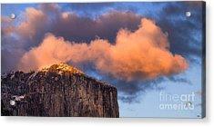 El Cap Glow Acrylic Print