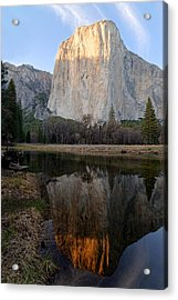 Acrylic Print featuring the photograph Yosemite - El Capitan by Francesco Emanuele Carucci