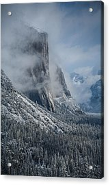 El Capitan In Clouds Acrylic Print